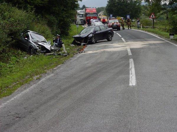 Prometna nesreča na cesti Slovenj Gradec - Mislinja
