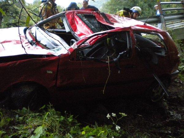 Prometna nesreča na Trški gori - 1