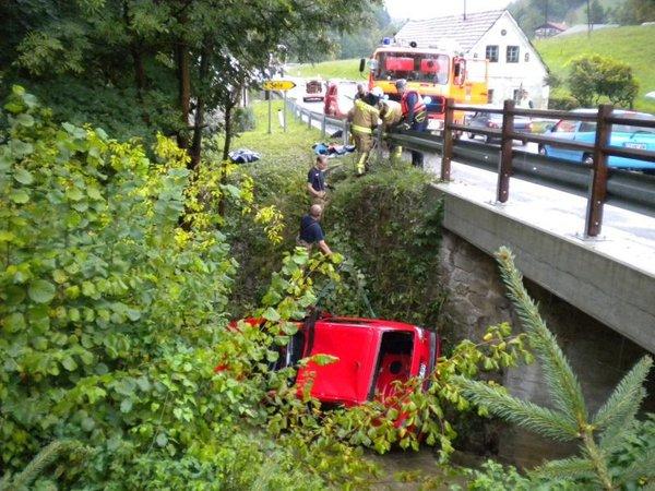 Prometna nesreča na Trški gori - 2
