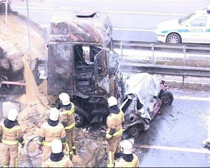Nesreča na avtocesti