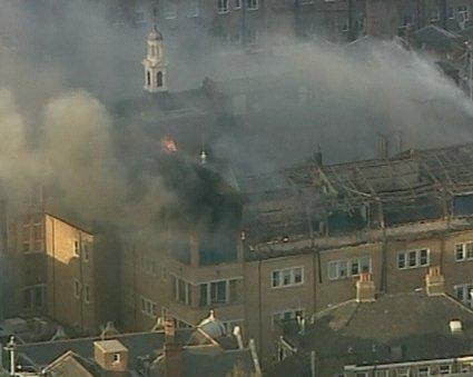 Požar v bolnišnici