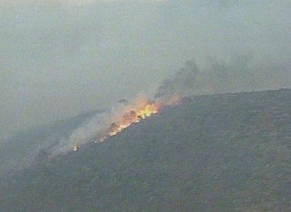 Požar na Hrvaškem