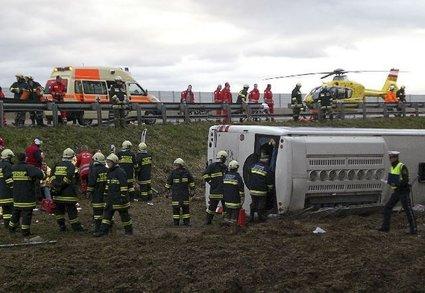 Nesreča avtobusa