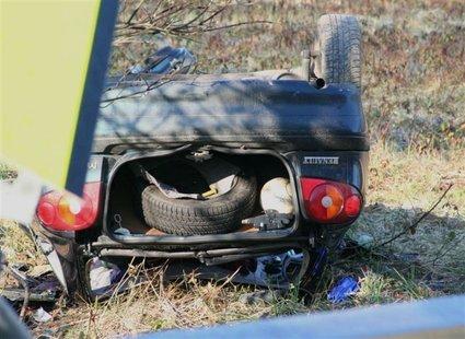 Prometna nesreča pri Slovenski Bistrici
