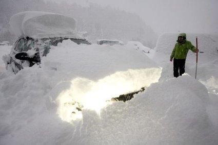 Obilno sneženje v Avstriji