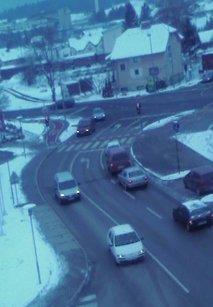 Sneg v Novem mestu