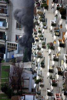 Požar v ljubljanskih Fužinah-7