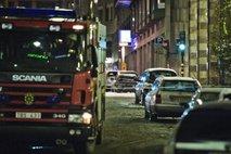 Po eksploziji avtomobila na Švedskem