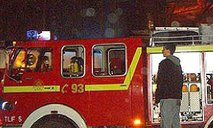 Požar v Novem Sadu