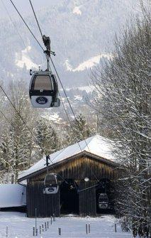 Gondola v Braunecku