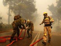 Požari v Grčiji - 4