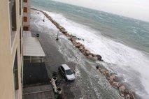 Poplavljanje morja v Piranu