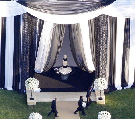 Poročna torta Kardashian