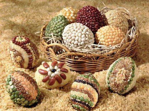 Naravna krasitev velikonočni jajčk