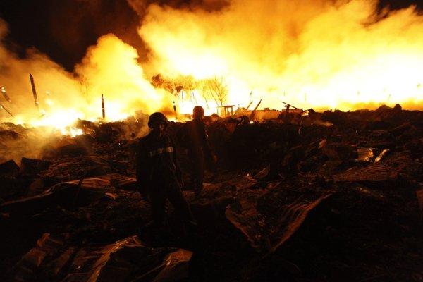 Eksplozija in požar v Jangonu - 4