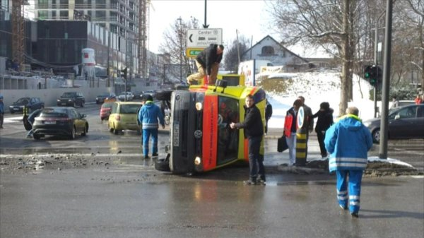 Nesreča reševalnega vozila - 1