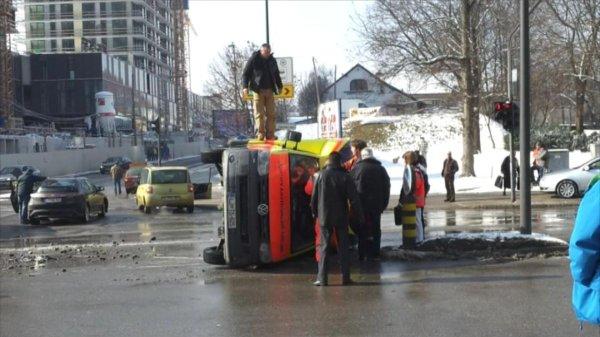 Nesreča reševalnega vozila - 3