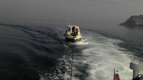 Reševanje čolna - 1