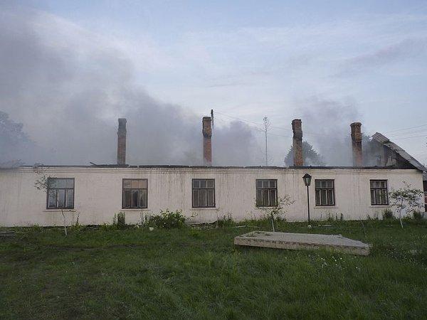 Požar v domu za ostarele v Ukrajini