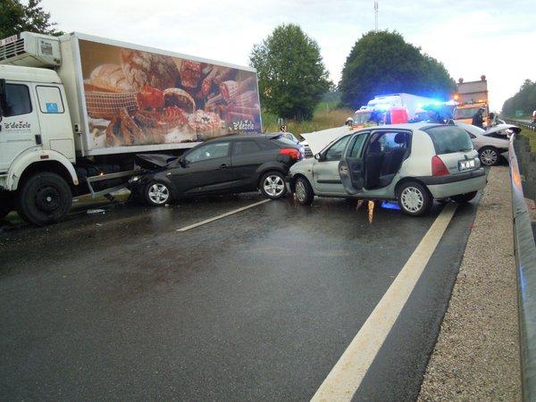 Prometna nesreča na štajerski avtocesti - 1