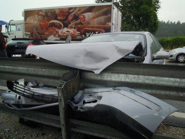 Prometna nesreča na štajerski avtocesti - 2