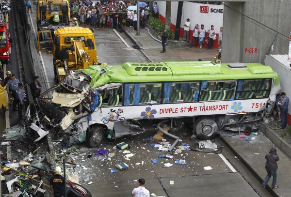 Nesreča avtobusa - 1