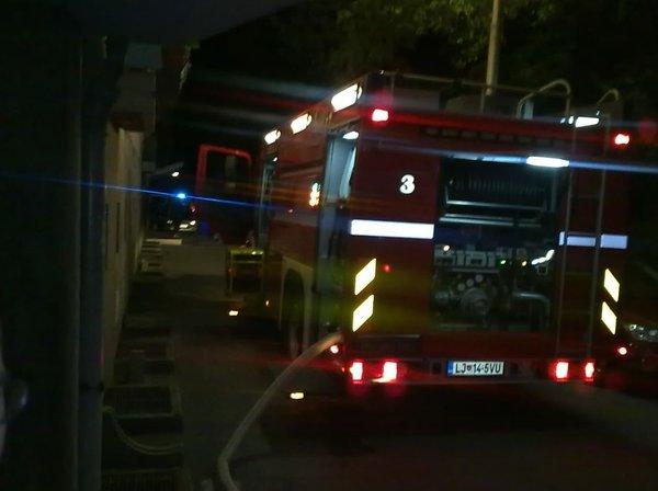 Požar v Ljubljani
