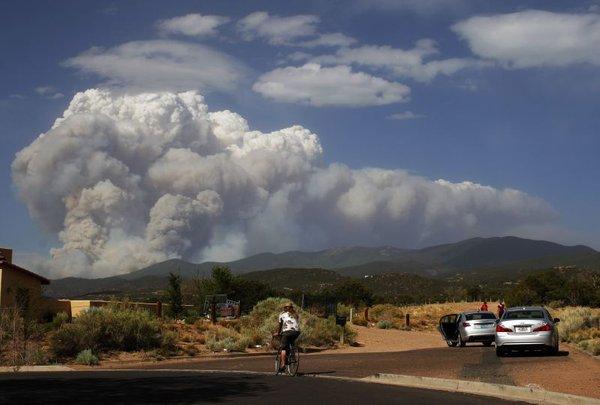 Požar v Novi Mehiki