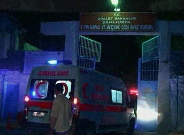 požar v turškem zaporu