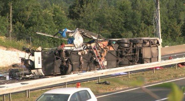 Nesreča na avtocesti Split Zagreb