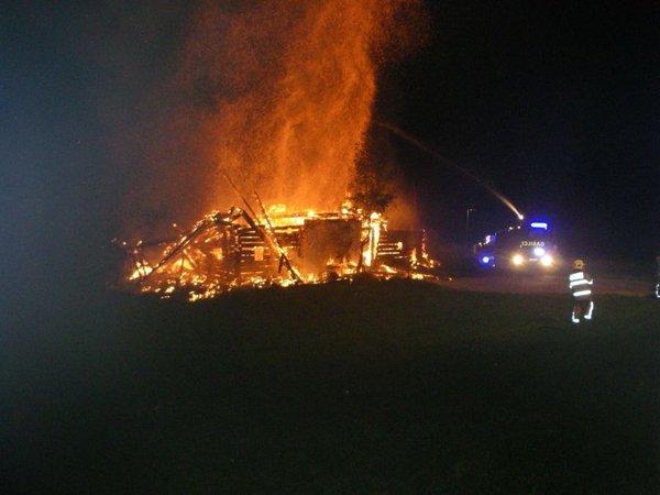 Zgorela Sitarjeva hiša - 1