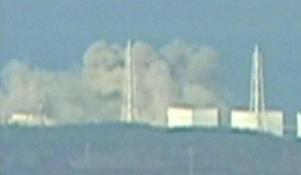 Eksplozija v elektrarni Fukušima 1