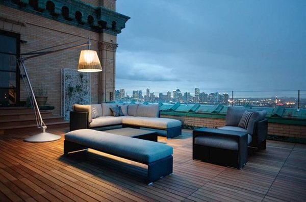 Lesena terasa v New Yorku - 3