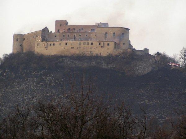 Po požaru na gradu Krasna Horka