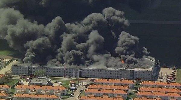 Požar na Poljskem