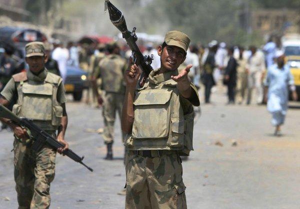 Pakistanska vojaka