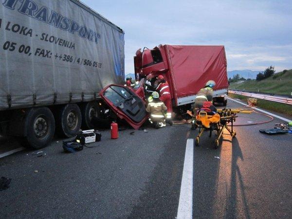 Prometna nesreča pri Žalcu - 1