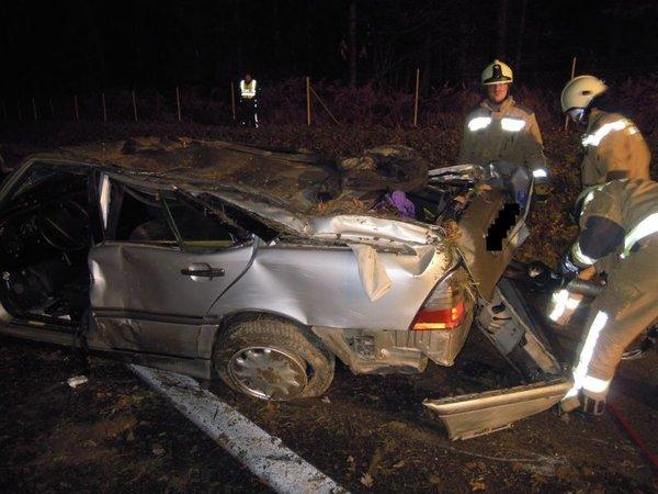 Prometna nesreča na AC Ljubljana - Celje - 1