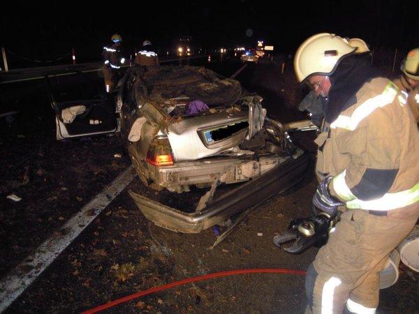 Prometna nesreča na AC Ljubljana - Celje - 2