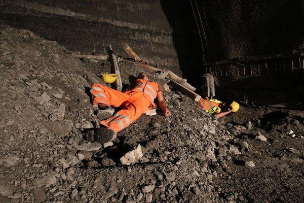 Vaja rudarskih reševalcev - 2