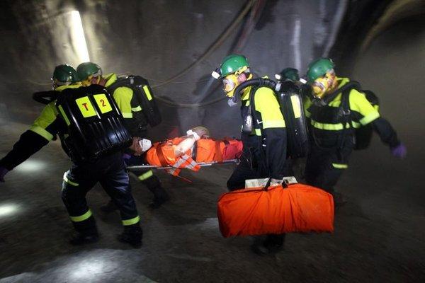Vaja rudarskih reševalcev - 7