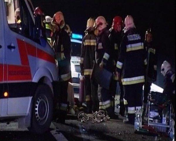 nesreča na Madžarskem