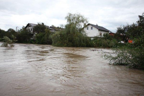 Mali Graben in Gradaščica poplavljata - 5