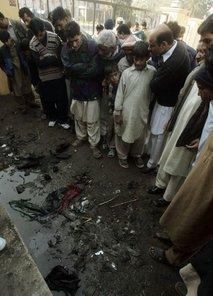 Mesto atentata na Benazir Buto