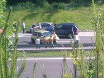 Nesreča in zastoj na Dolenjki - 3